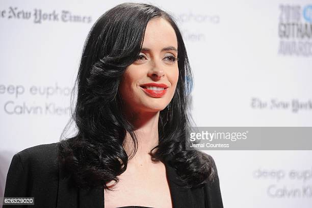 Krysten Ritter attends IFP's 26th Annual Gotham Independent Film Awards at Cipriani Wall Street on November 28 2016 in New York City