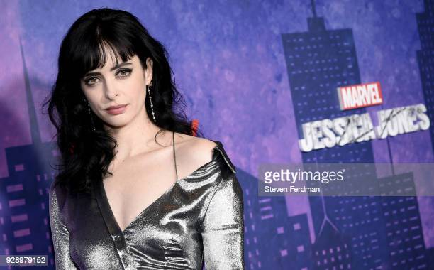 Krysten Ritter attends 'Jessica Jones' Season 2 New York Premiere at AMC Loews Lincoln Square on March 7 2018 in New York City