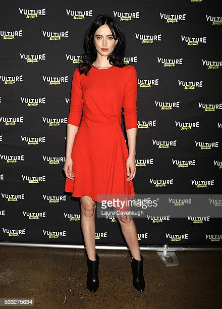Krysten Ritter attends Jessica Jones The Art Of Collaboration 2016 Vulture Festival at Milk Studios on May 21 2016 in New York City