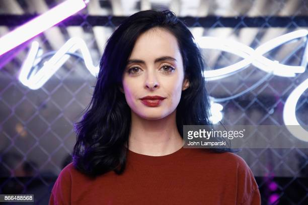 Krysten Ritter attends Moxy Times Square 'Coming Out' Party at Moxy Times Square on October 25 2017 in New York City