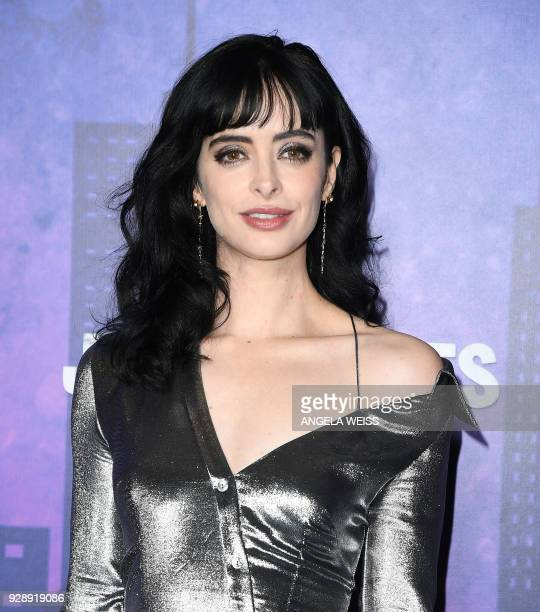 Krysten Ritter attends Netflix's 'Marvel's Jessica Jones' Season 2 Premiere at AMC Loews Lincoln Square on March 7 2018 in New York / AFP PHOTO /...
