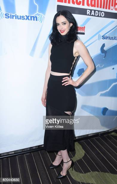 Krysten Ritter attends SiriusXM's Entertainment Weekly Radio Channel Broadcasts From Comic Con 2017 at Hard Rock Hotel San Diego on July 21 2017 in...