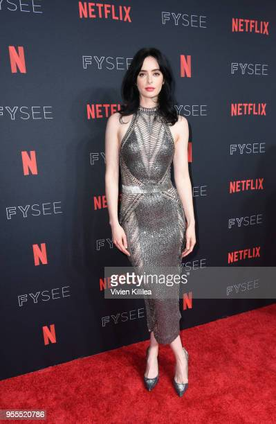 Krysten Ritter attends the Netflix FYSee Kick Off Party at Raleigh Studios on May 6 2018 in Los Angeles California