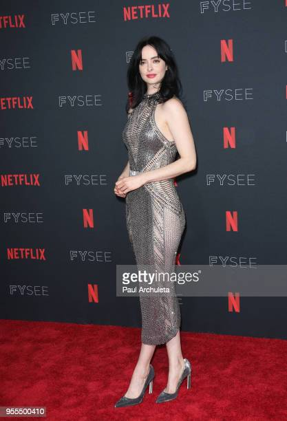 Krysten Ritter attends the Netflix FYSEE KickOff at Netflix FYSEE At Raleigh Studios on May 6 2018 in Los Angeles California