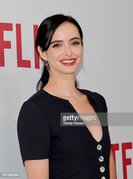 Krysten Ritter attends the Netflix's Rebels and Rule Breakers Luncheon and Panel Celebrating the Women of Netflix at the Beverly Wilshire Four...