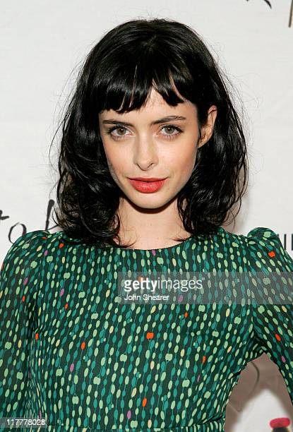 Krysten Ritter during Johnnie Walker Presents 'Dressed to Kilt' Arrivals and Backstage at Smashbox Studios in Los Angeles CA United States