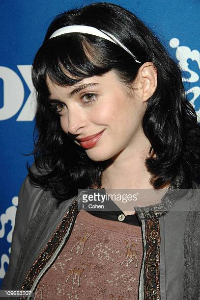 Krysten Ritter during The Fox All-Star Winter 2007 TCA Press Tour Party - Red Carpet and Inside at Villa Sorriso in Pasadena, California, United...