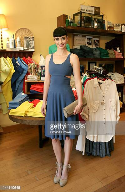 Krysten Ritter Fidelity Denim and Blues Jean Bar host an event benefitting the Elizabeth Glaser Pediatric AIDS Foundation at The Blues Jean Bar on...