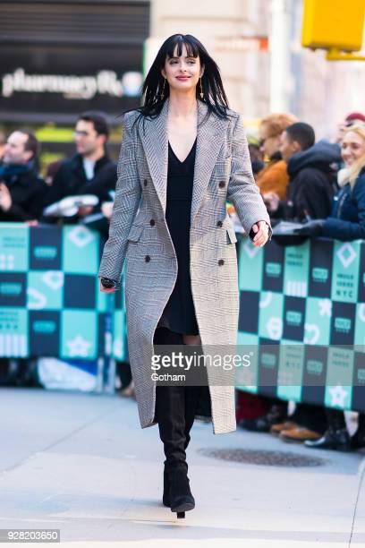 Krysten Ritter is seen in NoHo on March 6 2018 in New York City