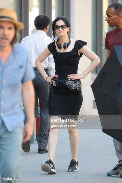 Krysten Ritter is seen on July 10 2018 in New York City