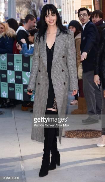 Krysten Ritter is seen on March 6 2018 in New York City