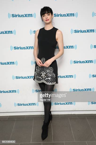 Krysten Ritter visits the SiriusXM Studios on March 14 2018 in New York City
