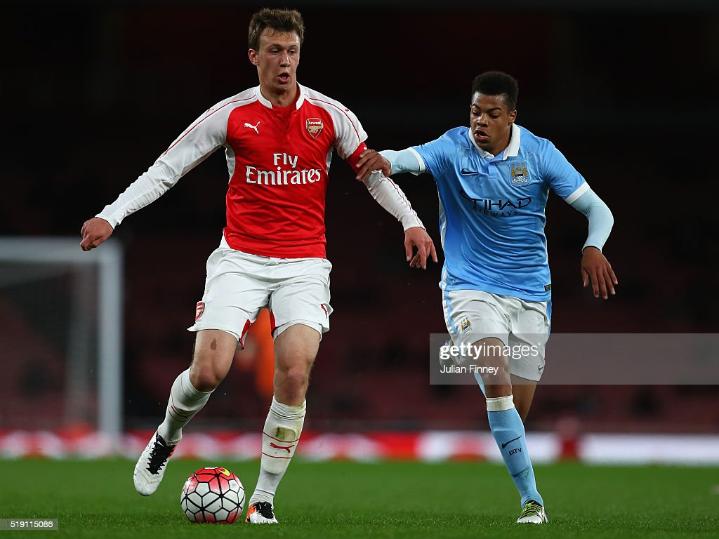 Arsenal v Manchester City: FA Youth Cup Semi-Final Second Leg : News Photo