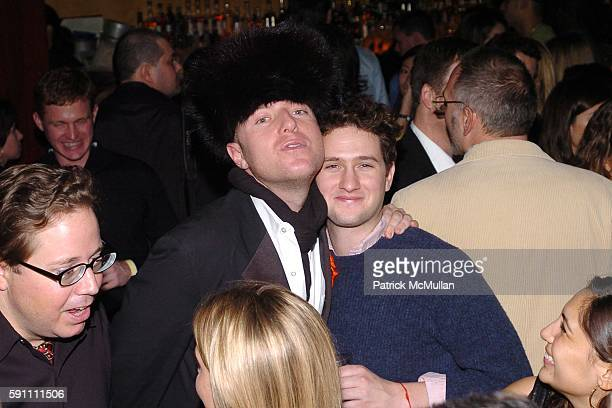 Krystian von Speidel and Sturgis Adams attend AfterParty for the Zang Toi Fall 2005 Fashion Show Supporting The Hemangioma Treatment Foundation at...