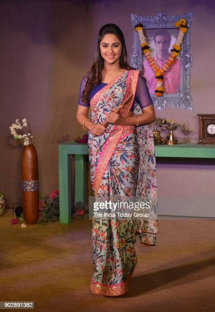 Krystle D'Souza during the launch of Belan Vali Bahu on Colors in Mumbai