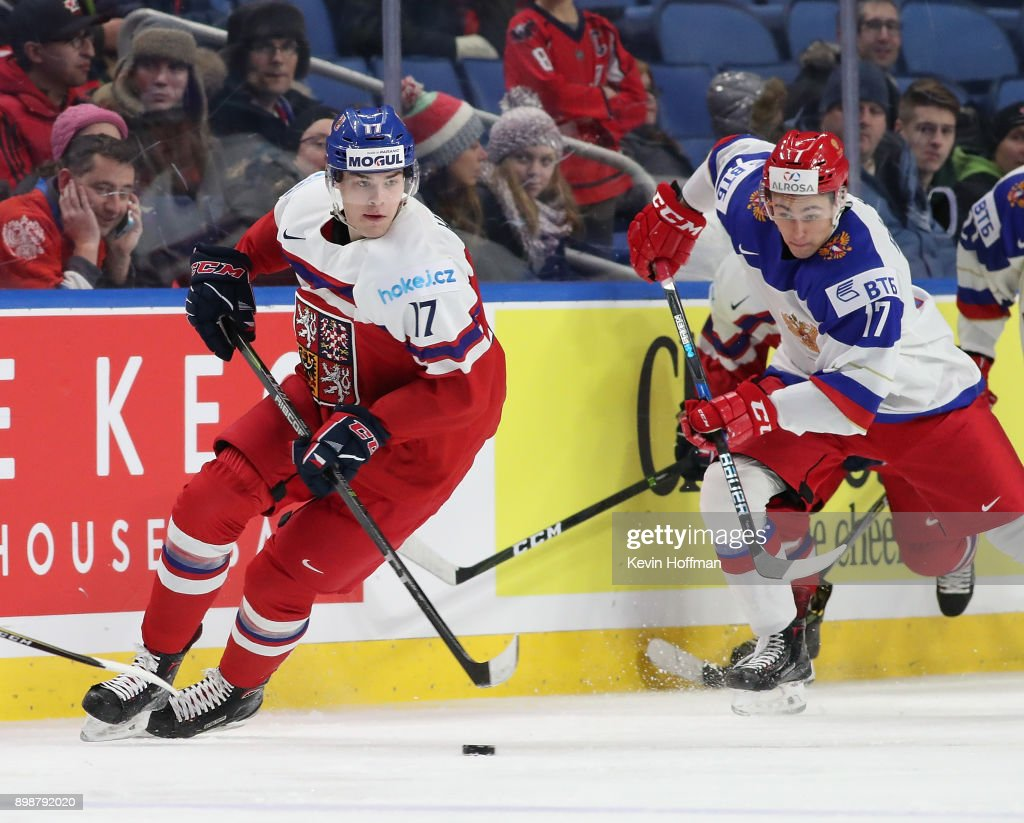 Czech Republic v Russia - 2018 IIHF World Junior Championship : News Photo