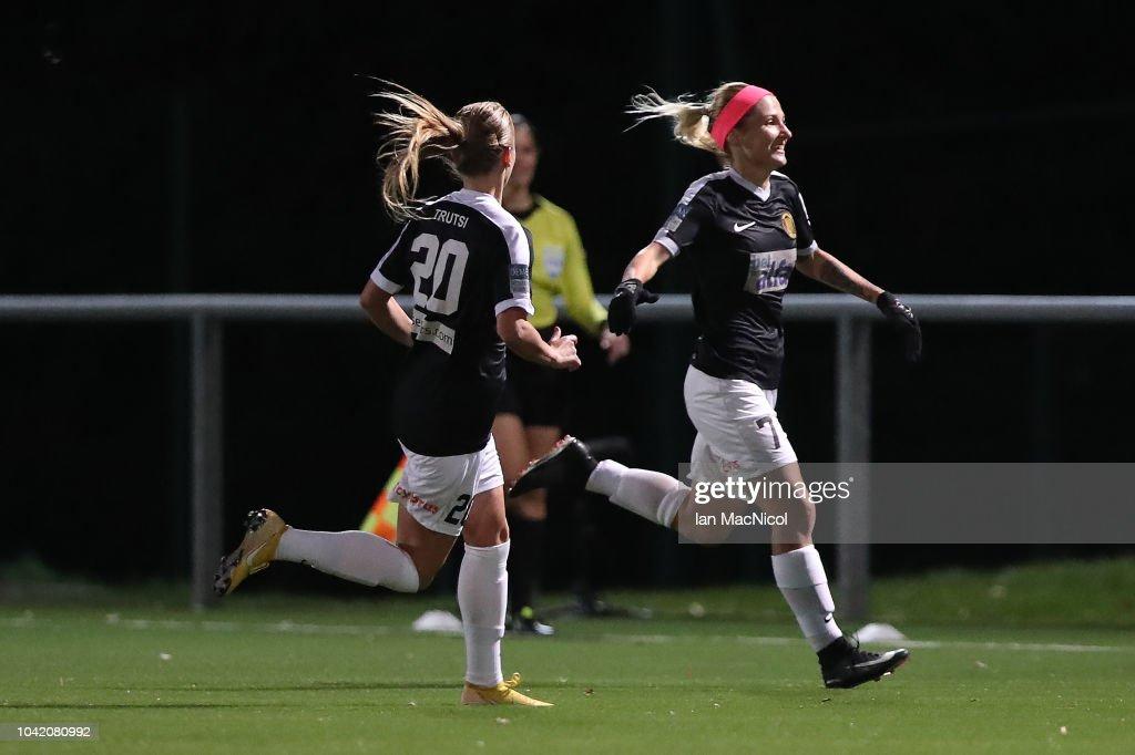 Glasgow City v Somatio Barcelona - UEFA Women's Champions League Round of 32 2nd Leg : News Photo
