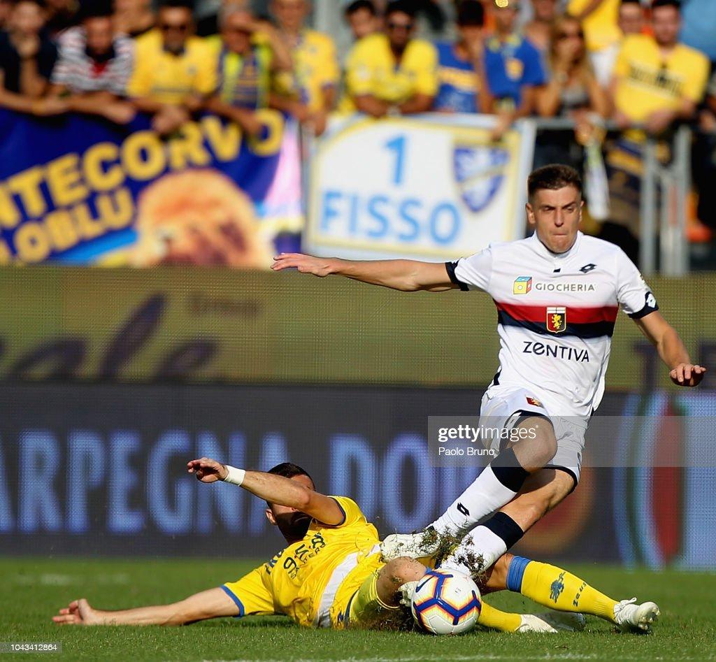 Frosinone Calcio v Genoa CFC - Serie A : News Photo