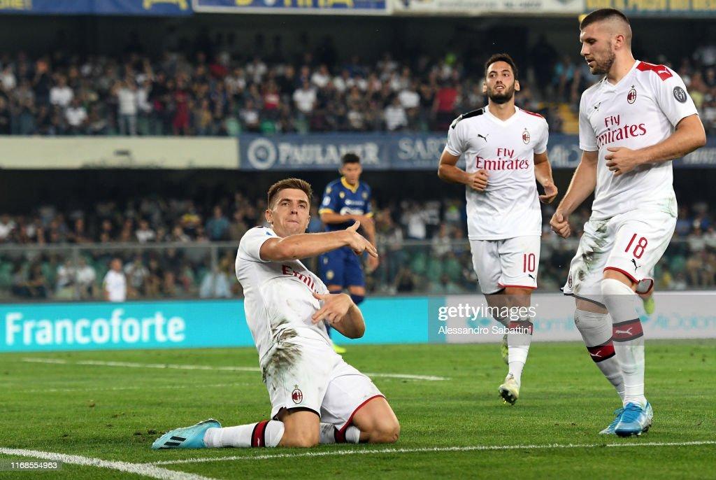 Hellas Verona v AC Milan - Serie A : News Photo