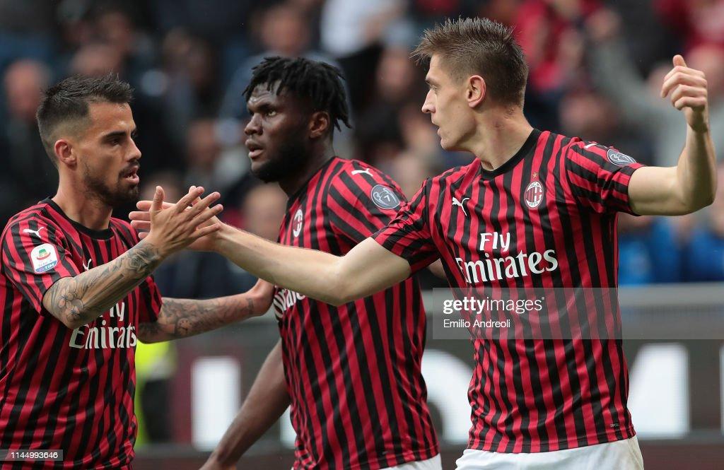 AC Milan v Frosinone Calcio - Serie A : News Photo