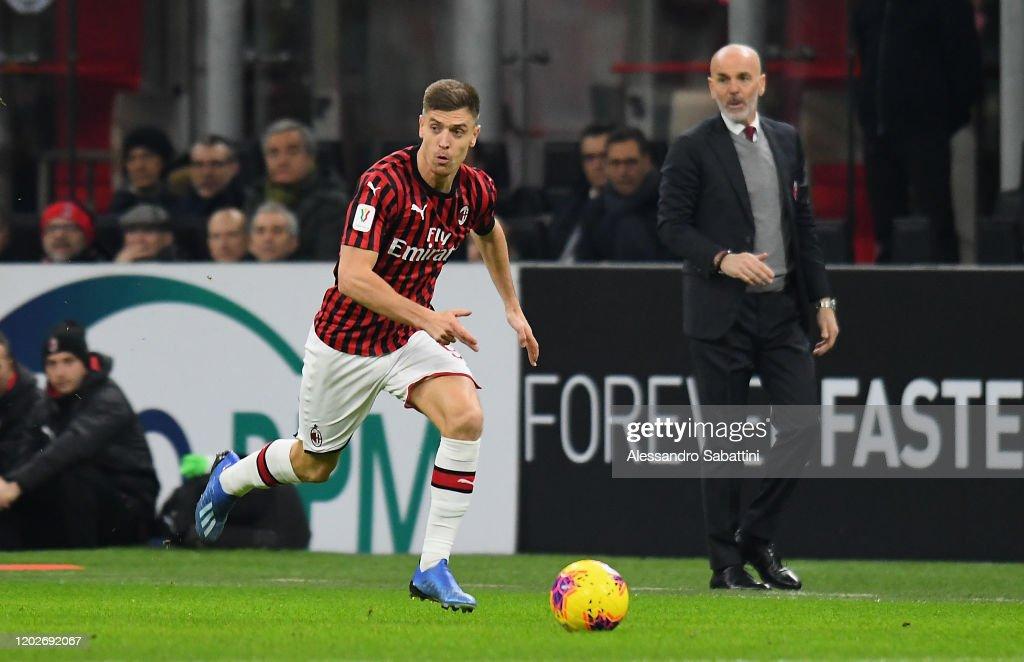 AC Milan v Torino - Coppa Italia: Quarter Final : News Photo