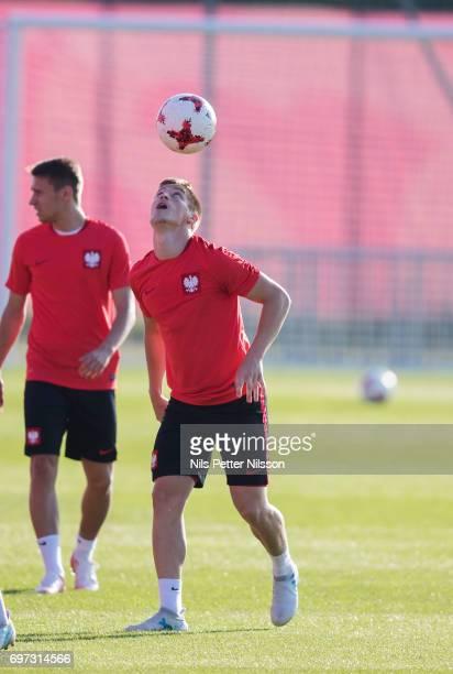 Krzysztof Pitek Of Poland During The Polish U National Team Training At Arena Lublin Training Ground