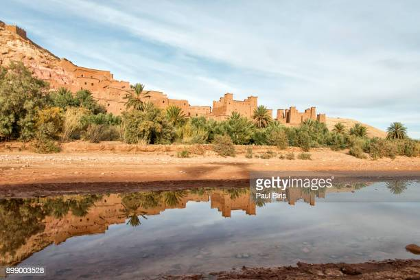 Ksar of Ait-Ben-Haddou, fortified town of clay on the Ouarzazate river, Morocco