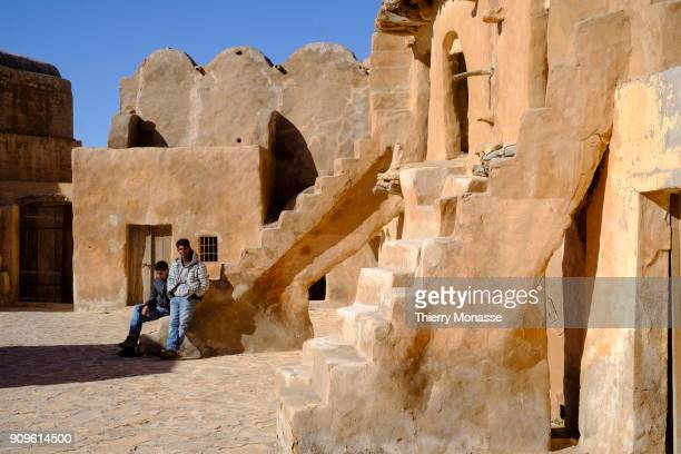 Ksar Ouled Soltane is a fortified granary 16 Km south from Tataouine The ksar is made of two courtyards each one has a perimeter of multistory...