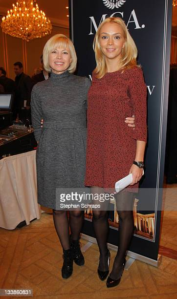 Ksenia Gorbachev, general manager of Mikhail-Gorbachev-Foundation and her mother Irina Virganskaya Gorbachev attend the Mikhail Gorbachev Award 2012...