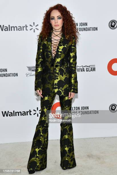 Ksenia Solo attends the 28th Annual Elton John AIDS Foundation Academy Awards Viewing Party Sponsored By IMDb And Neuro Drinks on February 09 2020 in...