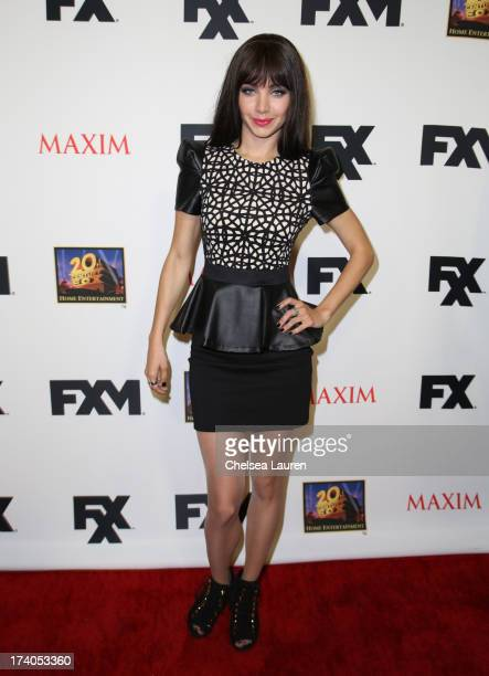 Ksenia Solo attends the Maxim FX and Home Entertainment ComicCon Party on July 19 2013 in San Diego California