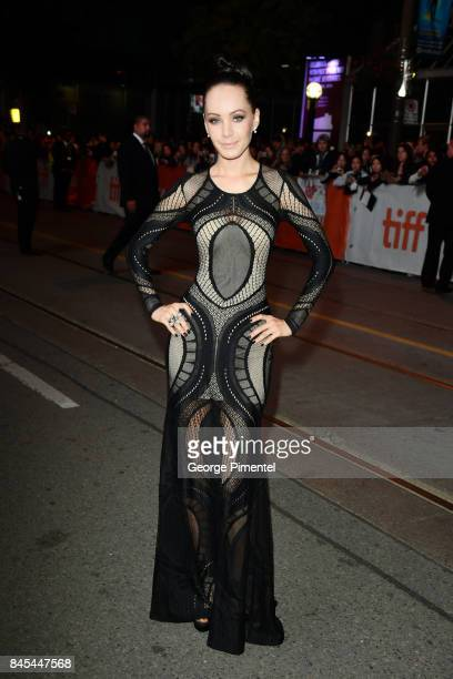 Ksenia Solo attends the mother premiere during the 2017 Toronto International Film Festival at Princess of Wales Theatre on September 10 2017 in...