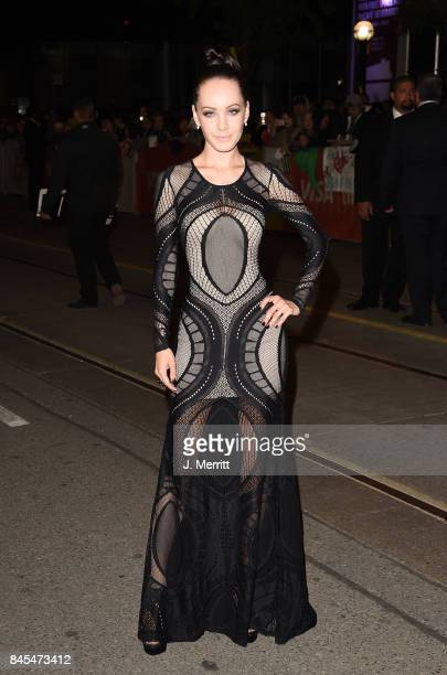 Ksenia Solo attends the 'mother' premiere during the 2017 Toronto International Film Festival at Princess of Wales Theatre on September 10 2017 in...