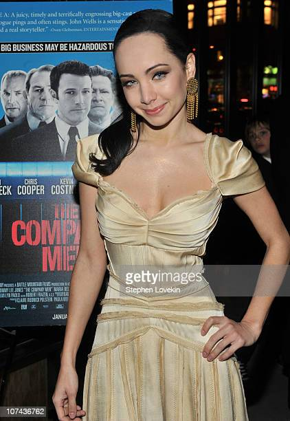 Ksenia Solo attends the New York premiere of The Company Men sponsored by Asellina at the Gansevoort and Dobel Tequila at Asellina at the Gansevoort...