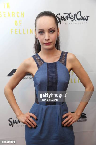 Ksenia Solo attends the screening of 'In Search Of Fellini at Laemmle Monica Film Center on September 12 2017 in Santa Monica California