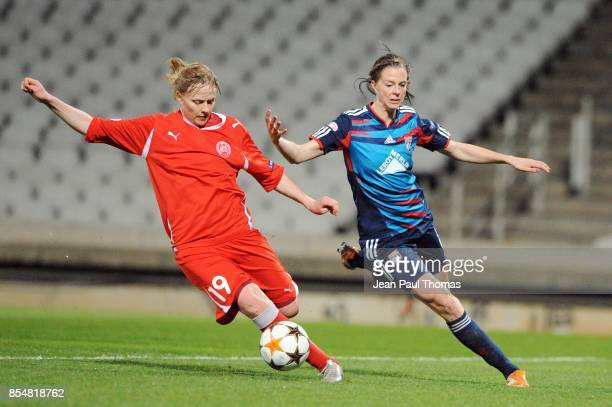 Ksenia TSYBUTCVICH / Lotta SCHELIN Lyon / Zvezda 2005 Perm 1/4 Finale Retour de la Ligue des Champions 2010/2011 Lyon