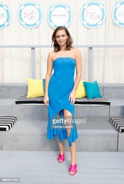 Ksenija Lukich arrives ahead of THE ICONIC Swim Show 2017 on November 30 2017 in Sydney Australia