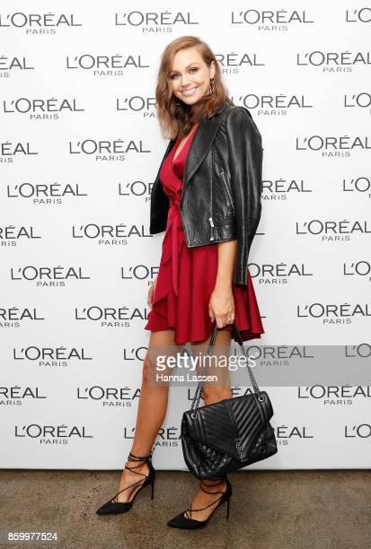 Ksenija Lukich attends a L'Oreal Paris Product Launch on October 11 2017 in Sydney Australia