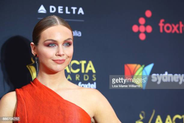 Ksenija Lukich attends the 7th AACTA Awards Presented by Foxtel | Ceremony at The Star on December 6 2017 in Sydney Australia