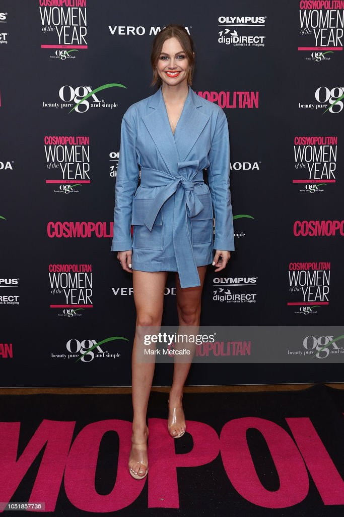 COSMOPOLITAN Women Of The Year Awards 2018 - Arrivals : News Photo