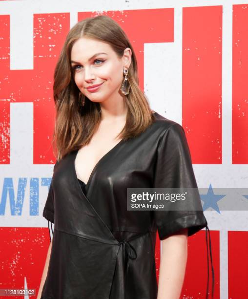 CINEMAS SYDNEY NSW AUSTRALIA Ksenija Lukich attends the premiere of Fighting With My Family at Event Cinemas George Street