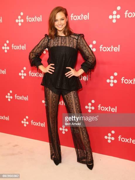Ksenija Lukich poses during a Foxtel Event at Hordern Pavilion on June 6 2017 in Sydney Australia