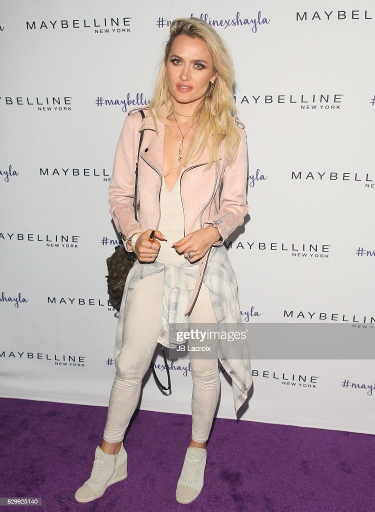 Kseniya Beryazina attends Maybelline's Los Angeles Influencer Launch Event at 1OAK on August 10, 2017 in West Hollywood, California.