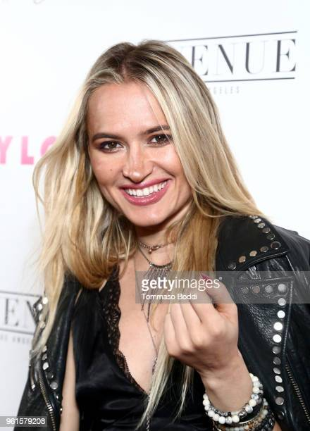 Kseniya Durst attends NYLON's Annual Young Hollywood Party sponsored by Pinkie Swear at Avenue Los Angeles on May 22 2018 in Hollywood California