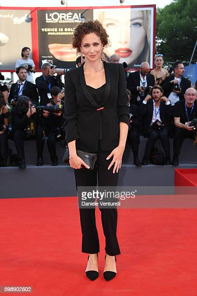 Kseniya Rappoport attends the premiere of 'The Young Pope' during the 73rd Venice Film Festival at Palazzo del Casino on September 3, 2016 in Venice,...