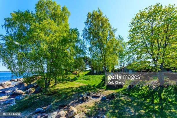 käsmu viilage - estland bildbanksfoton och bilder