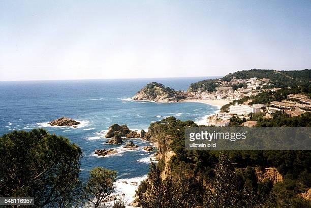 Küste bei Tossa de Mar - April 1998