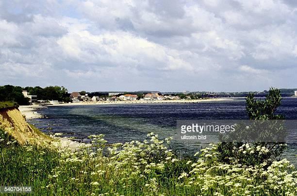 Küstenabschnitt Brodtener Ufer und Niendorf an der Lübecker Bucht Ostsee Landschaft