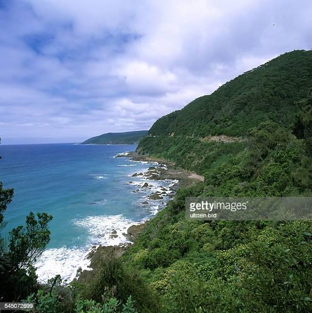 Küstenlandschaft an der Great Ocean Road 2000