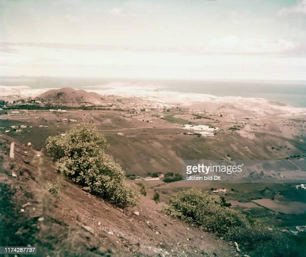 Küstenlandschaft auf Gran Canaria 1959